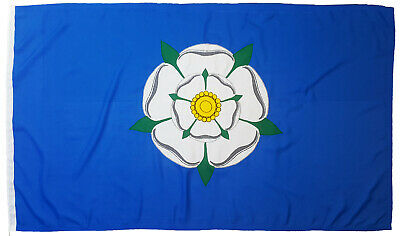 Yorkshire County Flag Rose York Mod Sewn Woven Polyester Stitched Embroidered • 15£
