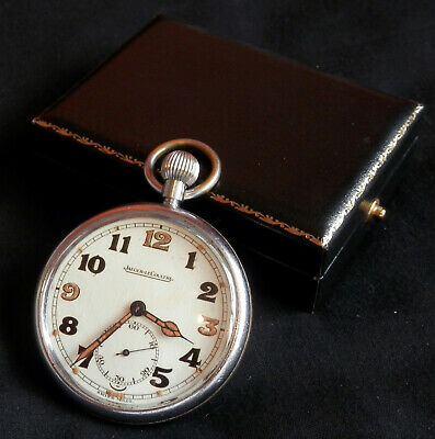 WWII Jaeger-LeCoultre (ex-service) Pocket Watch • 410£