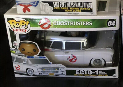 Ghostbusters Funko Pop Vaulted Rare!  Ecto-1 • 50£
