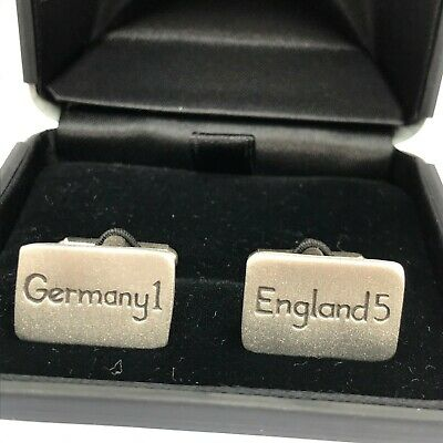 £12.99 • Buy Germany 1- England 5 Pewter Cufflinks Boxed
