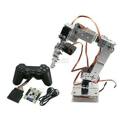 AU215.64 • Buy Assembled 6 DOF Arm Mechanical Robot Clamp Claw With Servo & Controller DIY