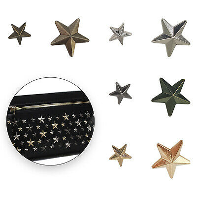 Star Spike Studs Rivets Spots For Bracelet Shoes Clothes Leather Craft 11mm/19mm • 3.70£