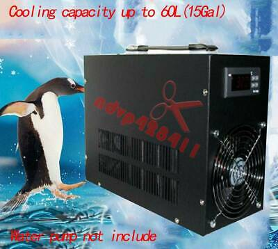 Aquarium Fish Tank Electronic Water Chiller Water Cooler Cooling Up To 60L • 179.43£