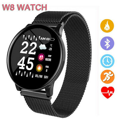 $ CDN29.06 • Buy Sport W8 Fitness Bracelet Smart Watch Heart Rate Fitness Tracker For Android IOS