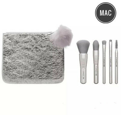 $54.99 • Buy NWT Authentic MAC Snow Ball Brush Kit Set Holiday Collection