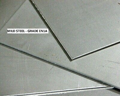 £4.65 • Buy MILD STEEL SHEET/PLATE - Thicknesses (0.7, 0.9, 1.5, 2, 3, 4)mm -  Many Sizes