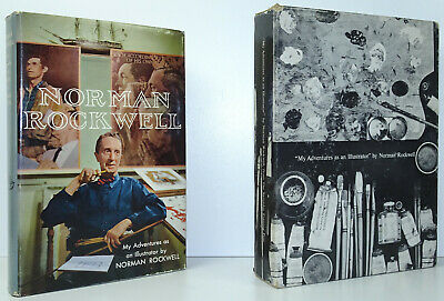$ CDN313.30 • Buy NORMAN ROCKWELL My Adventures As An Illustrator 1ST EDITION Slipcase SIGNED 1960