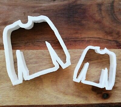 £3.99 • Buy Jumper Cookie Cutter Biscuit Dough Pastry Fondant Christmas 2 Sizes Mini XM27/93