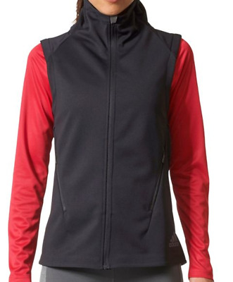 New Womens Large Adidas Polartec Gilet Climaheat Vest Thermal Pro Full Zip $120 • 40.45$
