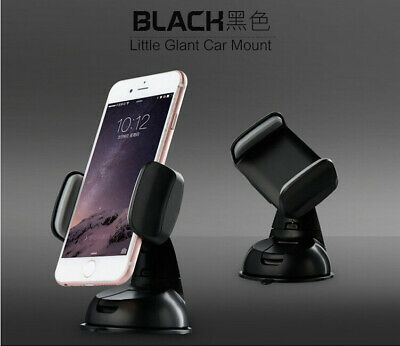 $5.99 • Buy Auto Accessories Black Car Mount Holder Phone Windshield For Mobile Cell Phone G