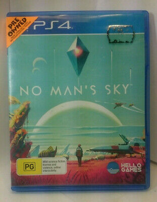 AU15.95 • Buy No Man's Sky SciFi Galaxy Adventure Journey Game For Sony Playstation 4 PS4 Pro