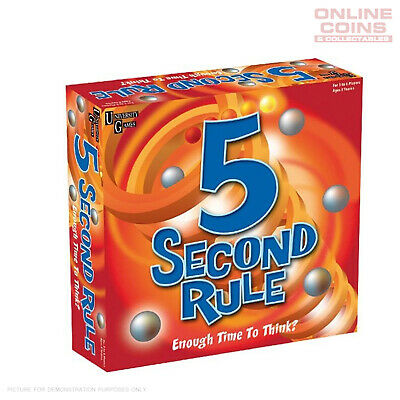 AU25.95 • Buy 5 Second Rule