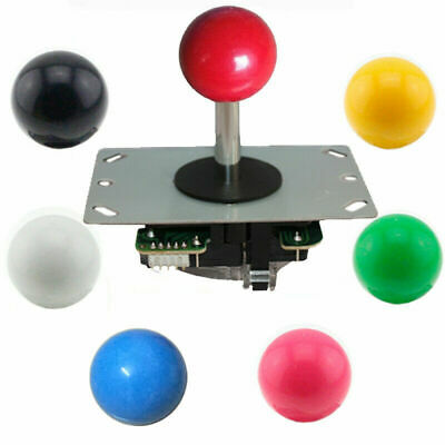 $10.07 • Buy Arcade Classic Competition 5Pin 4 And 8 Ways Joystick DIY Arcade Game Kit Parts