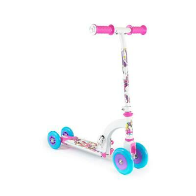 Unicorn My First Scooter Kids Toddler Infant Push Folding Converts 4 To 2 Wheels • 26.25£