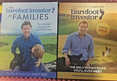 AU36 • Buy The Barefoot Investor Updated 2018 + Barefoot Investor For Families By Scott Pap