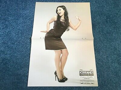Cristina Scabbia/Biffy Clyro Double Sided Centerfold Poster - Kerrang! • 2.99£