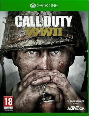 Call Of Duty WWII WW2 Xbox One Mint Same Day Dispatch Super Fast Delivery • 13.99£