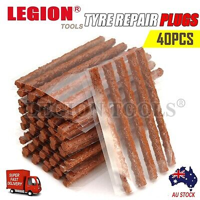 AU8.95 • Buy Tyre Repair Plugs Car Tire Puncture Recovery Tyre Tubeless Seal Plugs Strip 40PC