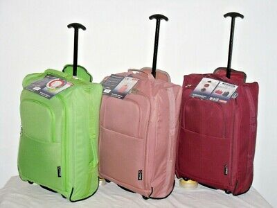 £19.95 • Buy  Super Lightweight Carry On Cabin Friendly Travel Overnight Weekend Trolley Bag