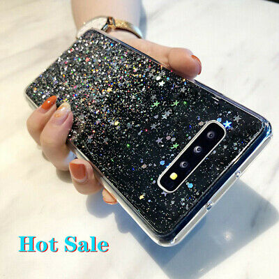 $ CDN4.68 • Buy For Samsung Galaxy S20 S10 Plus Glitter Crystal Silicone Soft Clear Case Cover