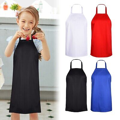 £4.49 • Buy Cute Kids Apron Junior Chef Cooking Kitchen Drawing Painting School Child Apron