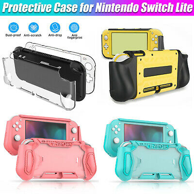 Translucent Cover Case Shockproof Protector Hard Shell For Nintendo Switch Lite • 7.97$