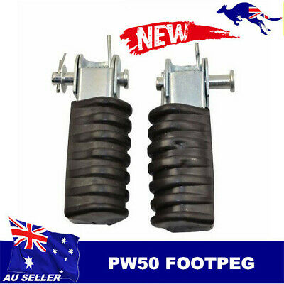 AU22.06 • Buy For Yamaha Pw50 Py50 Peewee 50 Foot Pegs Footrest Assembly Footpegs Py50