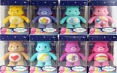 £6.49 • Buy Care Bear Mini Flocked Collectible Figures 7cm - Choice Of 8 Favourite Bears-new