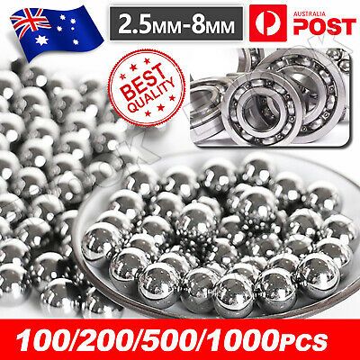 AU3.95 • Buy Replacement Parts 2.5-8mm Bike Carbon Steel Loose Bearing Ball Cycling Stainles