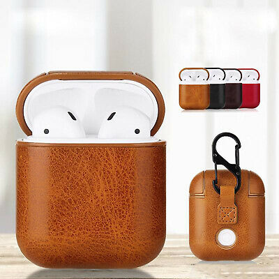 $ CDN6.04 • Buy New Leather Soft Skin Case For Apple Airpods 1 2 1st 2nd Gen Earphones PU Cover