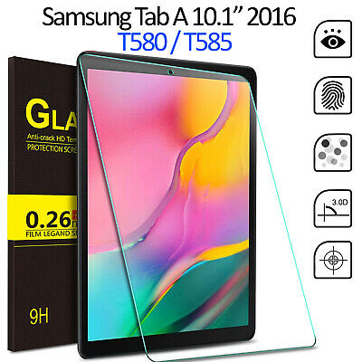 £3.95 • Buy Tempered Glass Screen Protector For Samsung Galaxy Tab A 10.1 2016 SM T580 T585