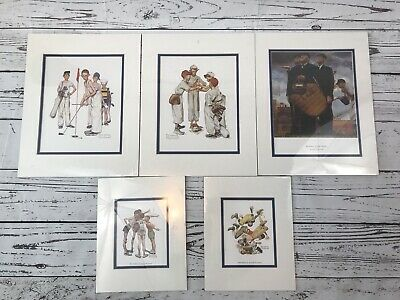 $ CDN34.66 • Buy NORMAN ROCKWELL Prints Mixed Lot Of 5 Prints New Is Plastic
