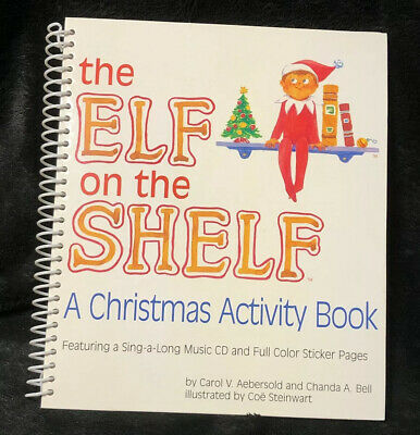 AU16.04 • Buy Elf On The Shelf Christmas Activity Book 2007 And Sing-a-long Music CD.