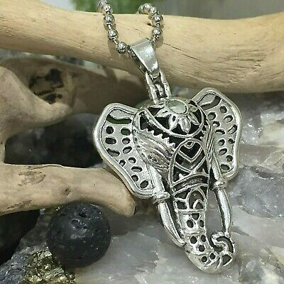 AU11.95 • Buy Elephant Aromatherapy Diffuser Necklace Essential Oil Elephant Locket