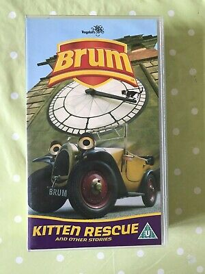 £12.99 • Buy Brum - Kitten Rescue And Other Stories (VHS, 2003)