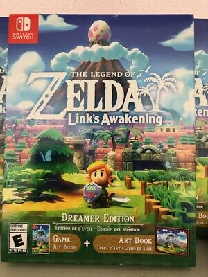 The Legend Of Zelda Link's Awakening-Dreamer Edition-Nintendo Switch Slight Dmg • 63$