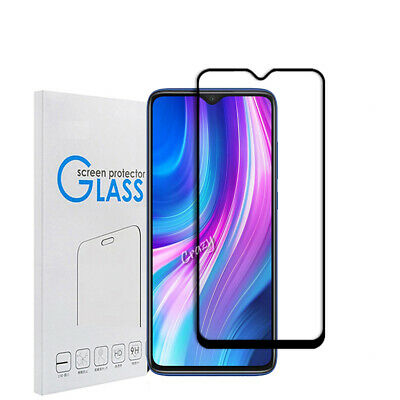 AU4.99 • Buy For Xiaomi Redmi Note 8 Pro Full Cover Tempered Glass Screen Protector Guard