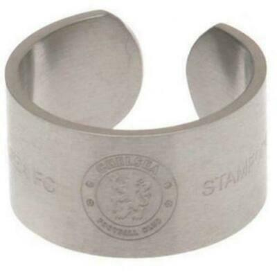 £10 • Buy Arsenal FC Stainless Steel Bangle Ring Size R