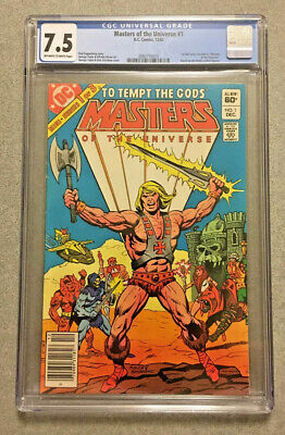 $92.46 • Buy Masters Of The Universe #1 CGC 7.5
