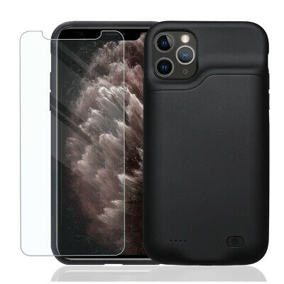 AU68.99 • Buy Smart Battery Case For IPhone 11 Pro Max Backup 6000mAh Power Bank Charger Cover