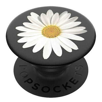 AU18 • Buy PopSockets Universal Swappable PopGrip Holder/Stand W/ Base For Phones Daisy WHT