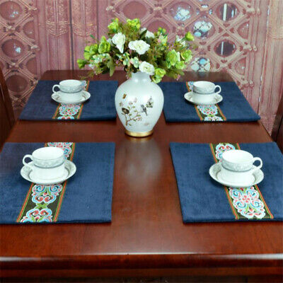 AU8.15 • Buy Place Mats And Coasters Dining Table Placemats Non-Slip Washable Useful C