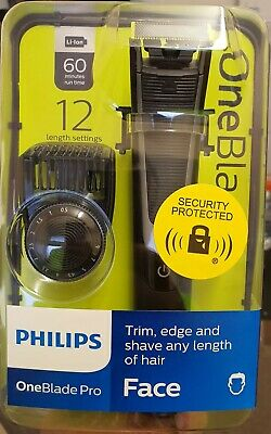 View Details Philips One Blade Pro Shaver Electric Wet & Dry Razor 12 Length Trimmer - New • 52.00£