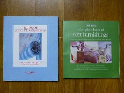 2 Soft Furnishings Books-ideal Home+homes+gardens-48 Sewing Projects • 4.95£