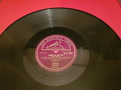 VAUGHN MONROE RIDERS IN THE SKY 10  78rpm B.D. 1247 • 4.99£