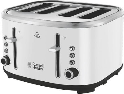 AU49 • Buy NEW Russell Hobbs RHT445WHI Legacy 4 Slice Toaster- White