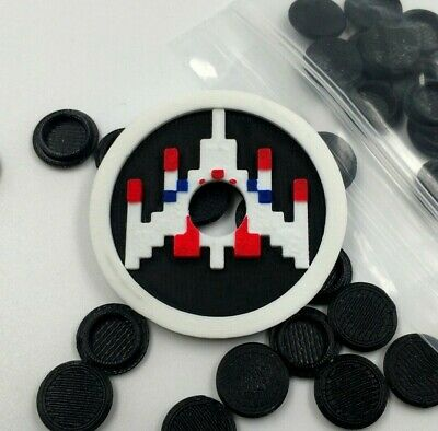 Arcade1up Custom Parts - Galaga - Joystick Dust Covers And Caps/Covers • 2.75$
