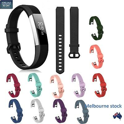 AU7.50 • Buy For Fitbit Alta Alta HR Silicone Bands Wristband Watch Band Replacement Strap