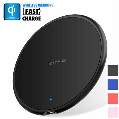 $ CDN4.93 • Buy Qi Wireless Fast Charger Charging Pad Mat For Samsung IPhone 11 Pro XS S10 S9 S8
