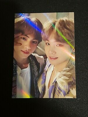 $50 • Buy BTS Official 5th Muster Ticket Holder Photocard Yoongi Jin